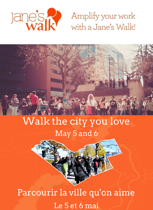 April 26, 2018: Parkdale Park takeover. Jane's Walk launches (with a party) on May3.